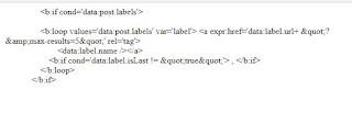 Code load nhiều nhãn label blogspot