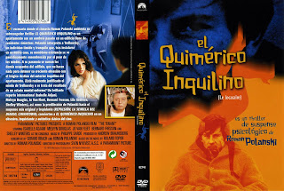 Carátula: El quimérico inquilino (1976) Le locataire (The Tenant)