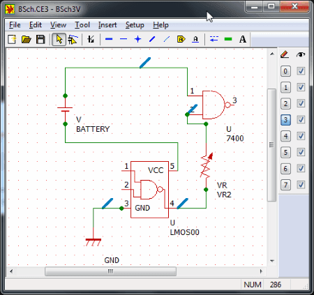 isis circuit design software free