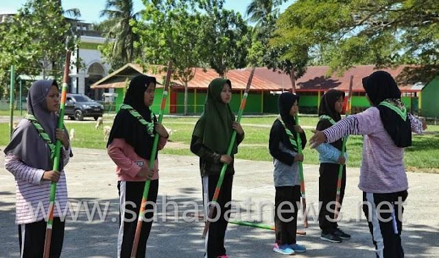 Jelang Bhayangkara Scout Event, Tim Pramuka Al Urwah Latihan di Bulan Ramadhan