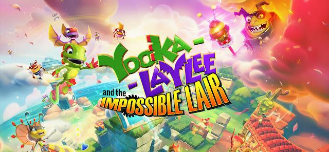 Yooka-Laylee and the Impossible Lair (Switch): divulgado o trailer de lançamento do jogo