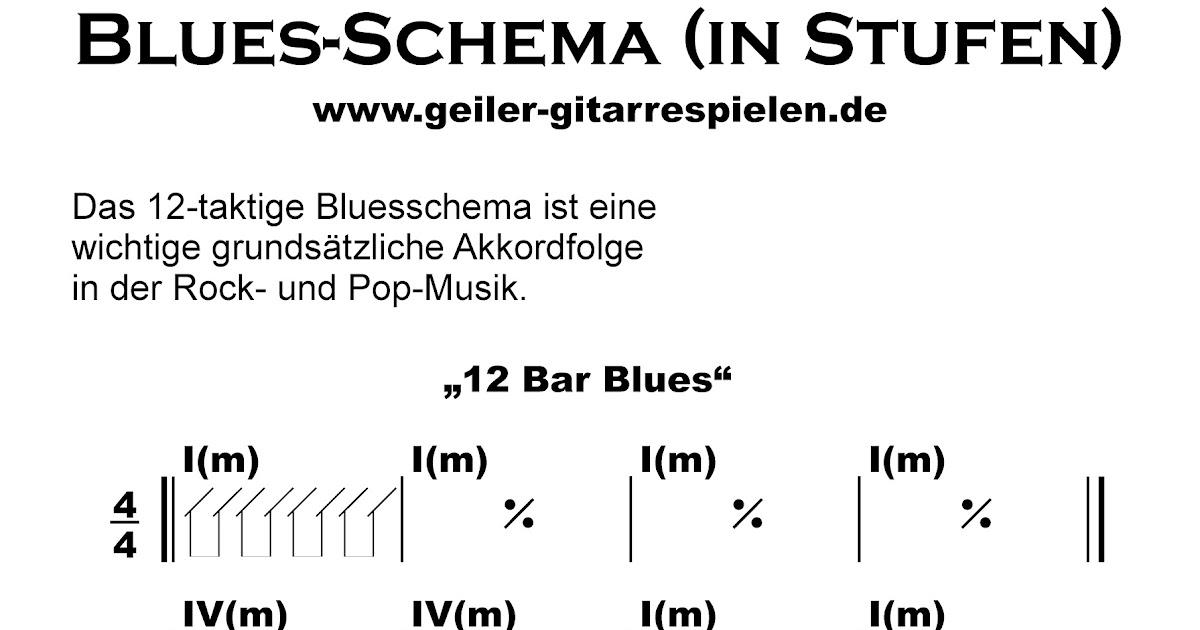 Blues-Schema | Einfach geiler Gitarre spielen!
