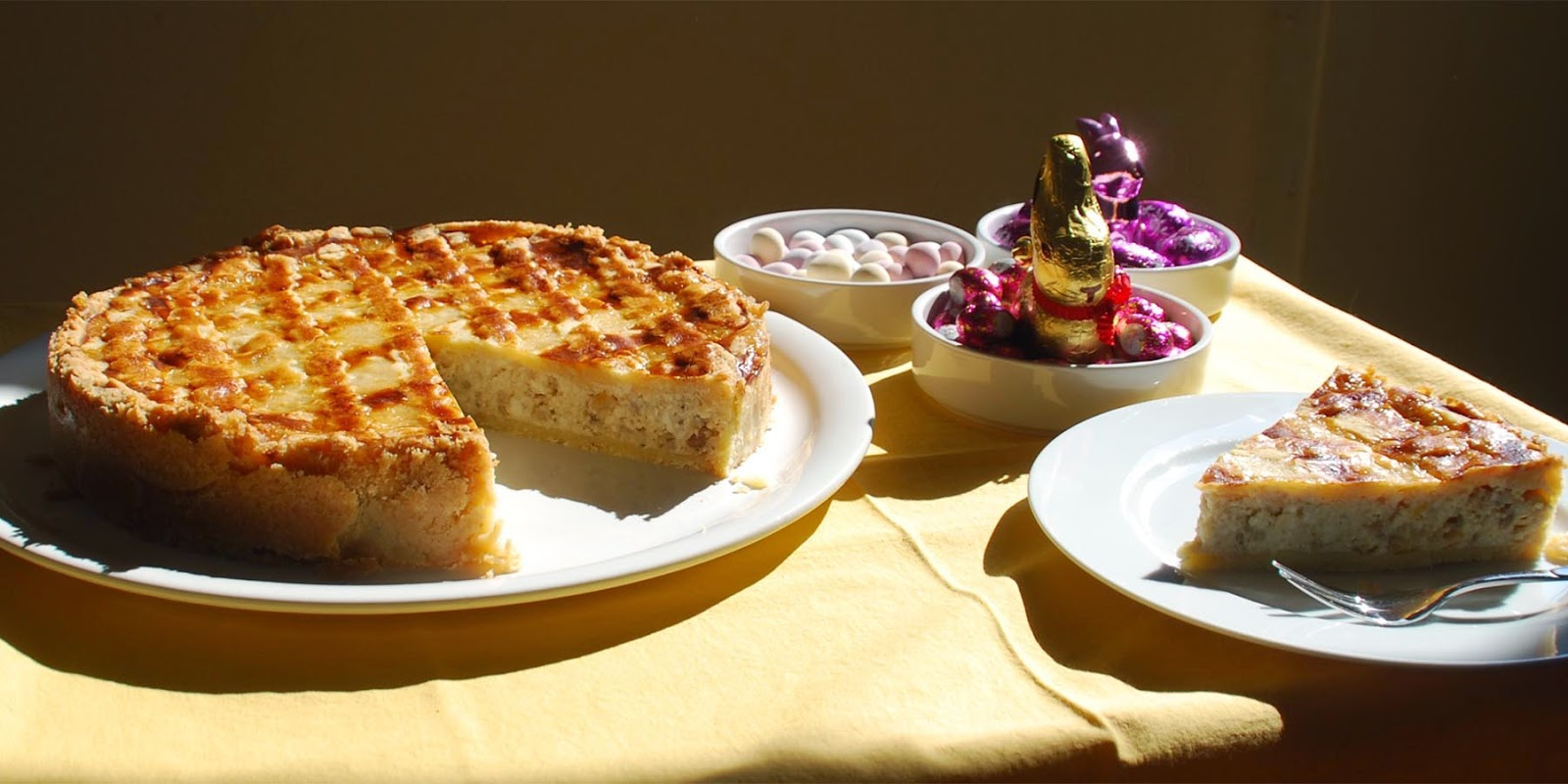 Pastiera napoletana - klassischer neapolitanischer Osterkuchen