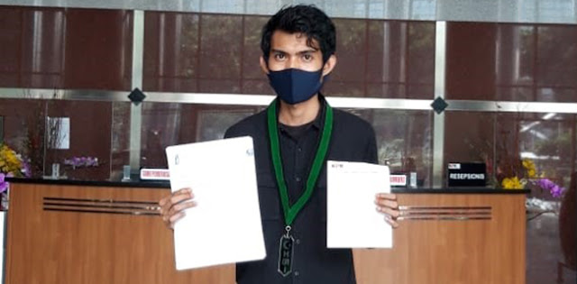 Bakornas LKBHMI Laporkan Bupati Takalar ke KPK