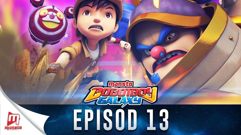 BoBoiBoy Galaxy Episode 13 - Sarkas Kegelapan