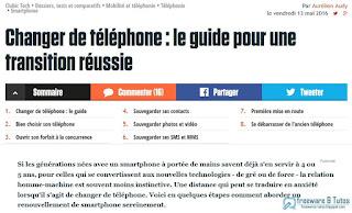 Guide pour changer facilement de téléphone