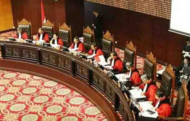 Bukan Menolak JR, MK Minta Materi Diajukan ke Pembuat UU (DPR dan Pemerintah)