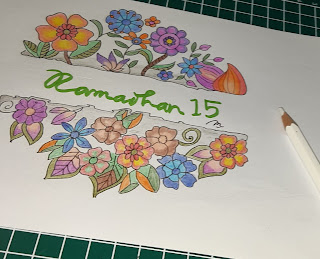 Gambar Bunga Dengan Faber Castell