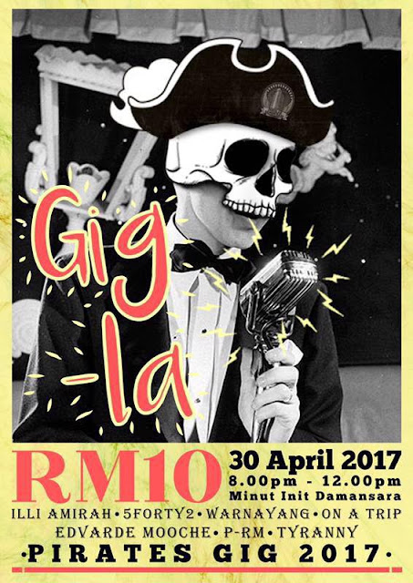 Gigs Underground 30 April 2017 kappasm