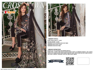 Fepic Rosemeen Cross Lawn Nx  Pakistani Suit