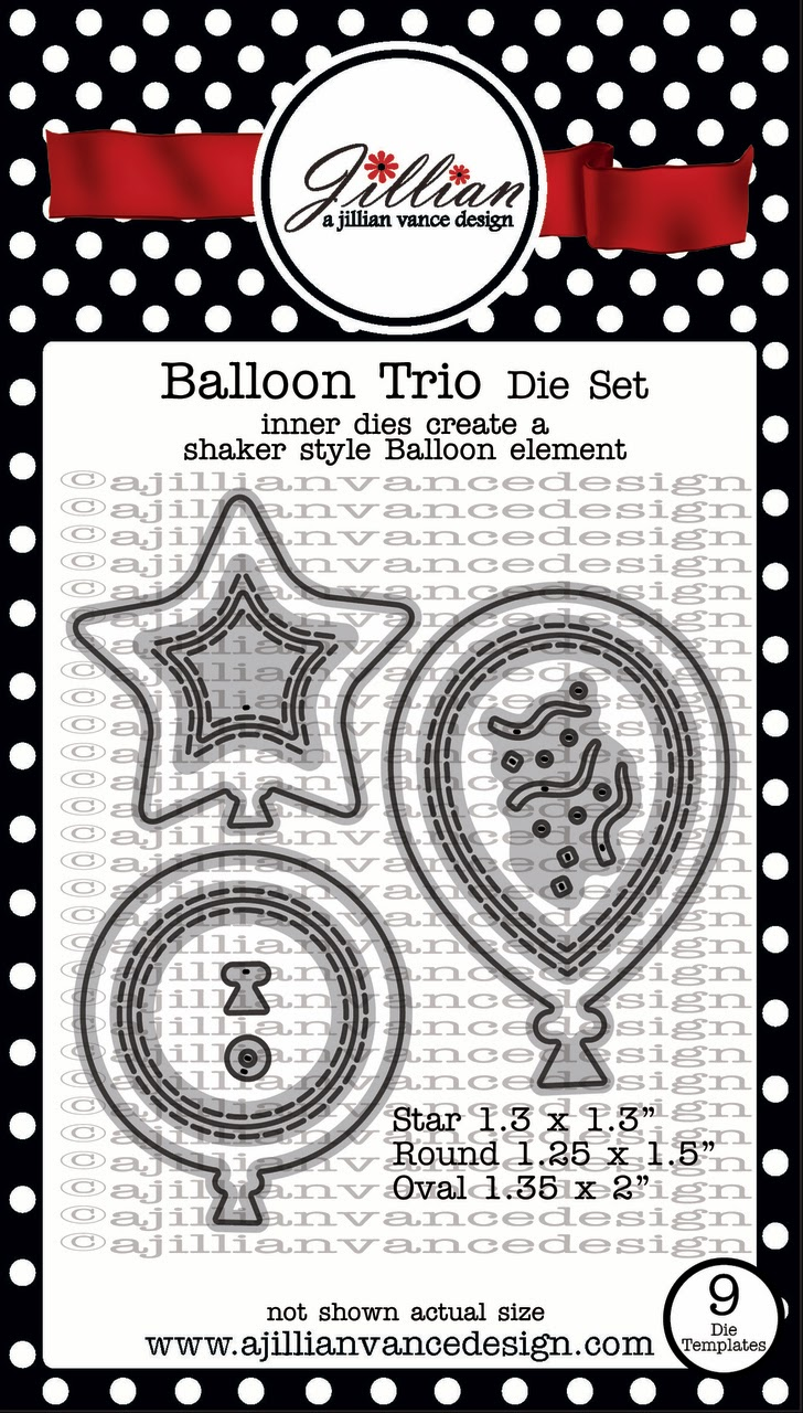 Balloon Trio Die Set