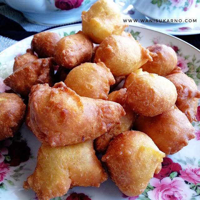 Resepi Cekodok / Cucur Durian Yang Lembut, Mudah Dan Sedap
