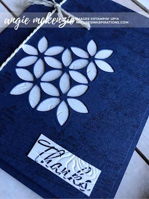 #JOSTTT007 Design Team Inspirations - July 2019 | Tasteful Textures bundle by Stampiin' Up!® | Nature's INKspirations by Angie McKenzie