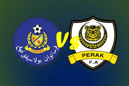 Live Streaming PAHANG Vs Perak #Liga Super Malaysia 2019 #LS14