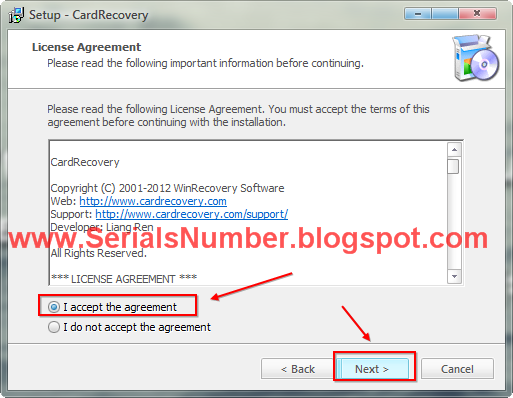 serial number key cardrecovery