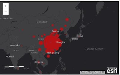 maps coronavirus