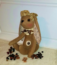 PLUSH BROWN 'BINNY' BUNNY