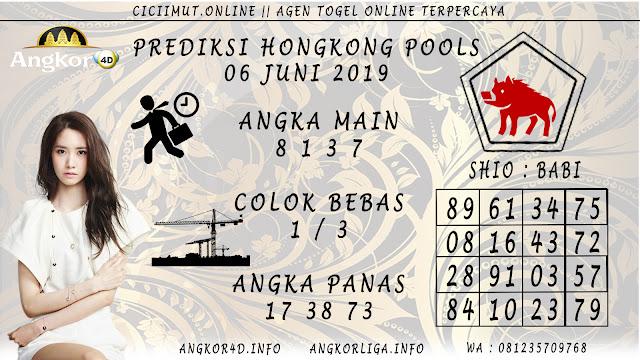 PREDIKSI HONGKONG POOLS 06 JUNI 2019