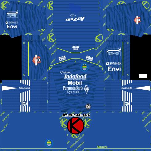 Persib Bandung 2020 Kit - Dream League Soccer Kits