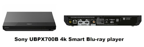 Sony UBPX700B 4k Smart Blu-ray player