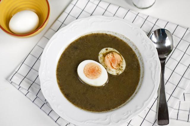 polska zupa szczawiowa