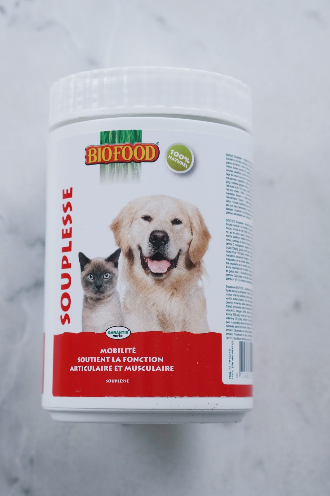 complément articulation chien glucosamine moule verte