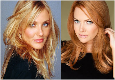 Hair Color Blond Reddish - List of Blond and Brown Hair Color for All Skin Types