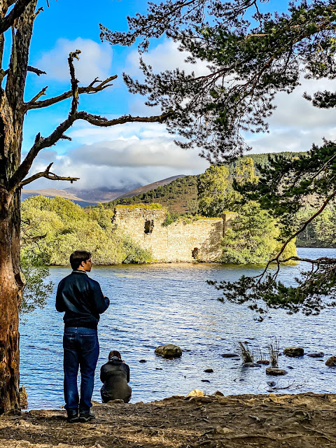 Loch An Eilein, Rothiemurchus Estate, Highlands, scotland by rail part 5, the best of the highlands, mandy charlton, photographer, writer, blogger