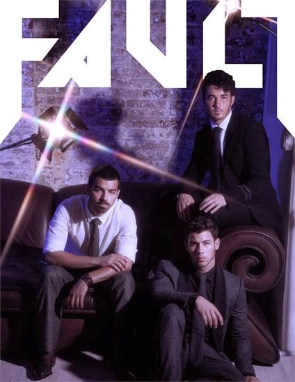 The jonas blog jonas brothers en la portada de fault - Jonas brothers blogspot ...