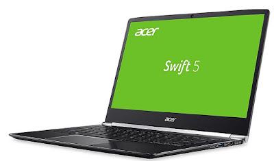 Acer Swift 5, Laptop Super Ringan Kurang Dari 1 Kilogram