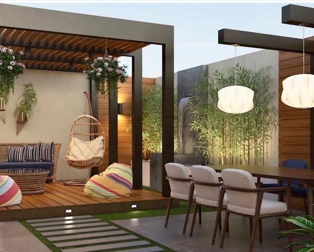 تنسيق حدائق منازل بجدة تصميم احواش فلل صغيرة