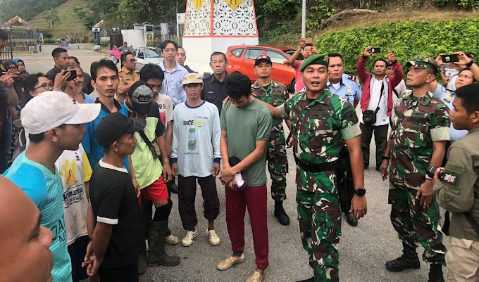 TNI Berhasil Pulangkan 9 WNI Kembali Ke Tanah Air Usai Ditahan Tentara Malaysia