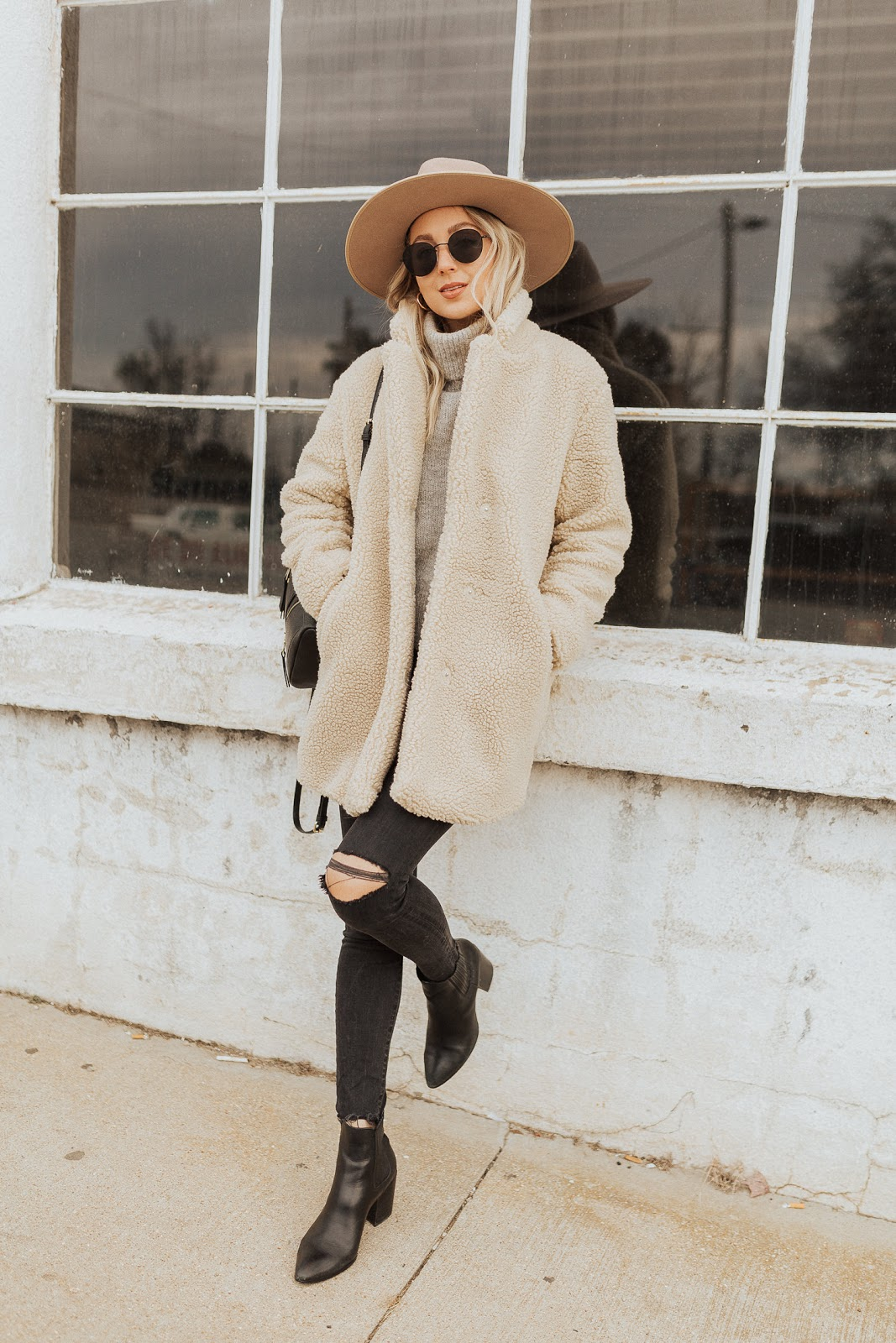 How to style a teddy coat or teddy jacket