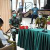 Danrem 141/Tp, Dampingi Gubernur Sulsel  Sambangi Posko Satgas Covid 19