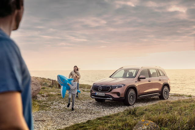 Mercedes-Benz Electromobility in a family package: the new EQB at a glance
