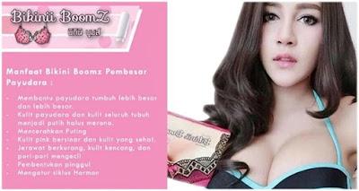 Supplemen Bikini Boomz 100% Original Thailand - Pembesar Payudara & Pemutih Kulit dan Tubuh
