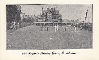 Pat Regan's Putting Green, Broadstairs. Dated 6.9.69