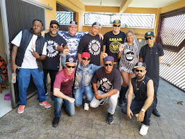 SP HIP HOP ALL STARS NA GRAVAÇÃO DA CYPHER 4 NO ESTÚDIO DJ QAP