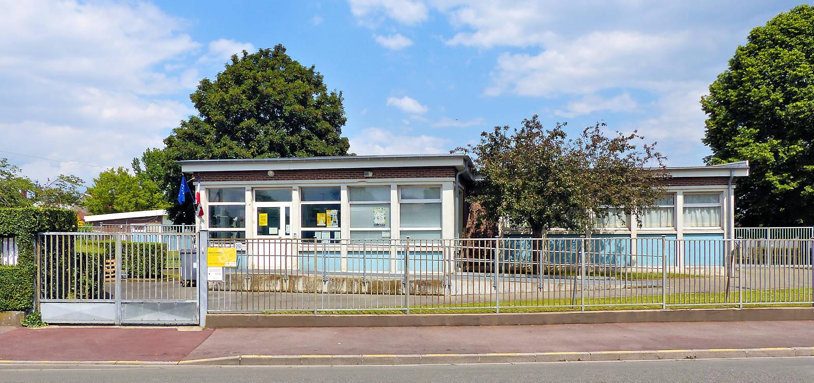 École Maternelle Paul Claudel - Tourcoing, rue du Pont de Neuville