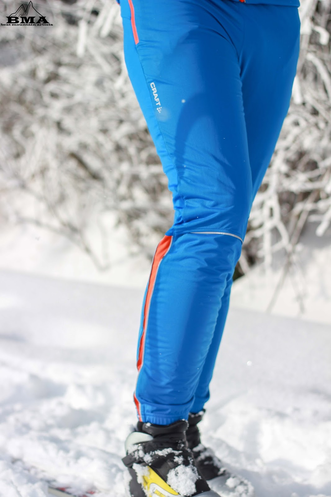Langlauf-Outfit Defense Wind Pants Craft Sports Outdoor Blog BMA Best Mountain Artists