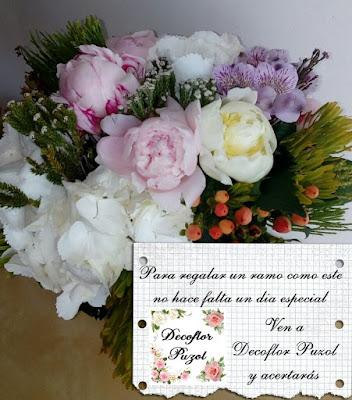 No hace falta un dia especial para regalar flores - Decoflor Puzol