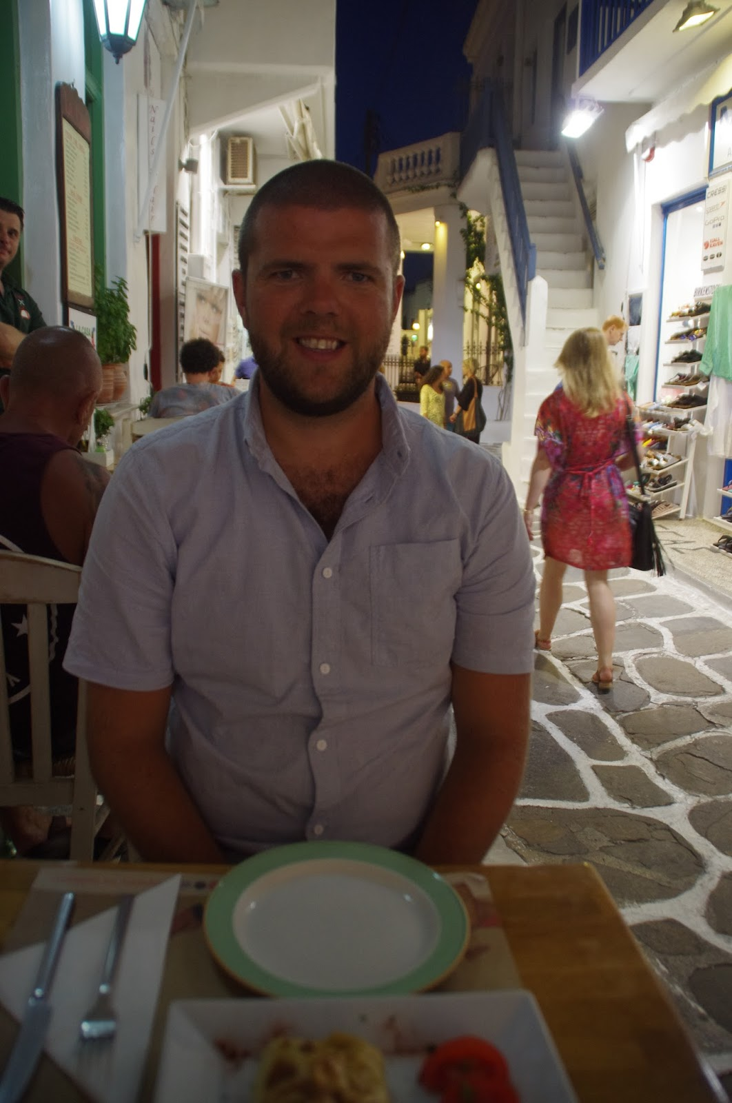 Dining in Mykonos Town