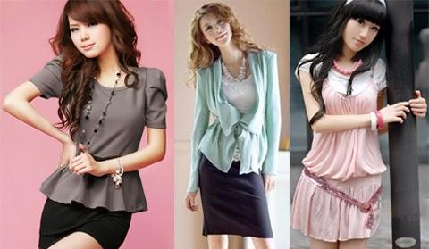 model baju korea modern