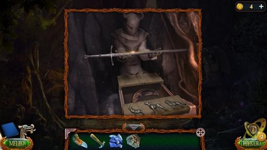 забираем меч и полумесяц в игре затерянные земли 4 скиталец