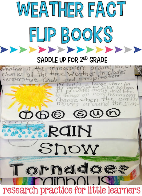 Are you looking for a fun way for your students to learn about weather? Come see how my class used flip books to show their research and what they learned!