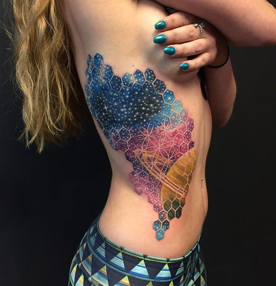Amazing Space Tattoos For Women