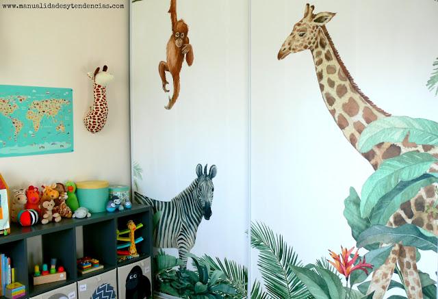 Habitación ibebé jungla
