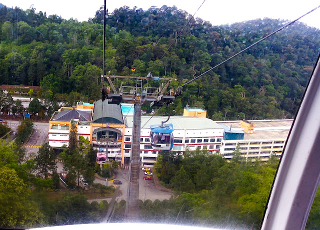 Genting Higland-stasiun-cable-car