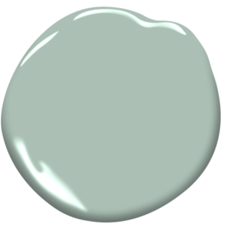 How to completely change your home exterior quickly for Seafoam blue paint color