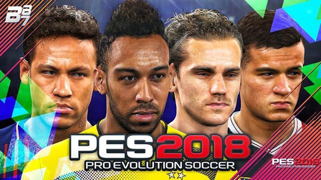 Start Screen PES 2018 For PES 2017
